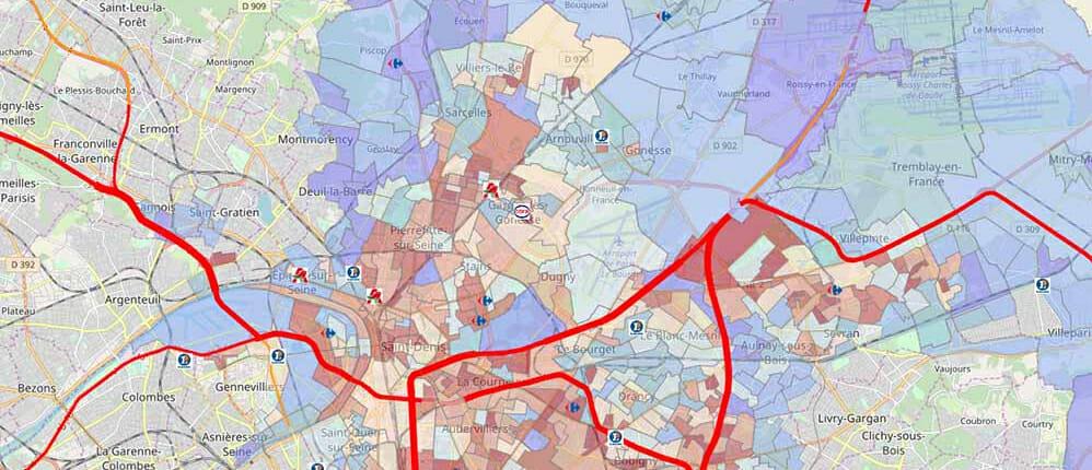 Zone d'accès et concurrence dans la région parisienne