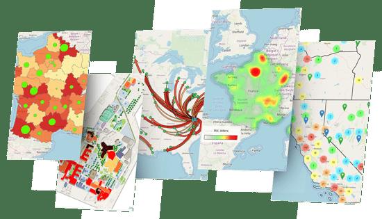 analyse géographique qlik sense