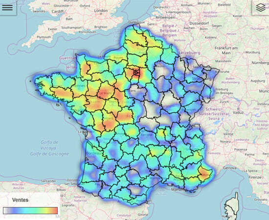 heatmap-articque-map