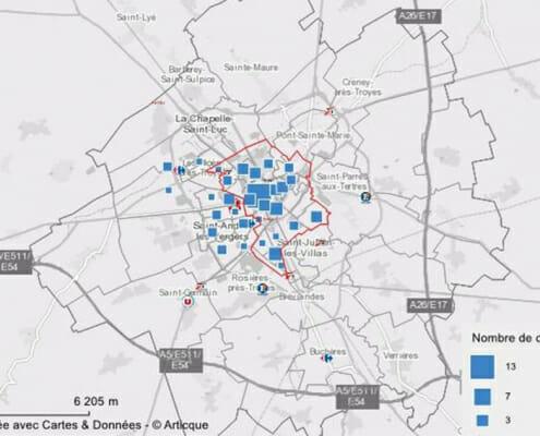 Réaliser un état local de marché : l'attractivité commerciale