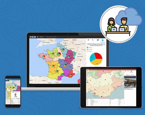 cartes & données online