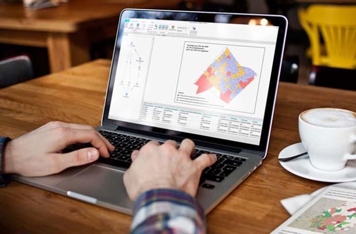 Illustration du Système d'Analyse Géographique