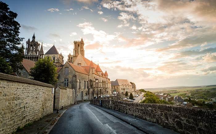 Photo de la ville de Laon (Aisne) - ADT de l'Aisne