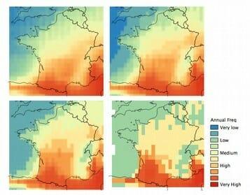 Évolution du péril naturel grêle due au changement climatique