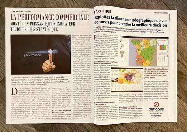 Activité commerciale : Le Figaro parle d'Articque