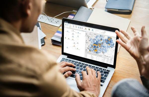 cartographier le potentiel et la pénétration marché avec Cartes & Données