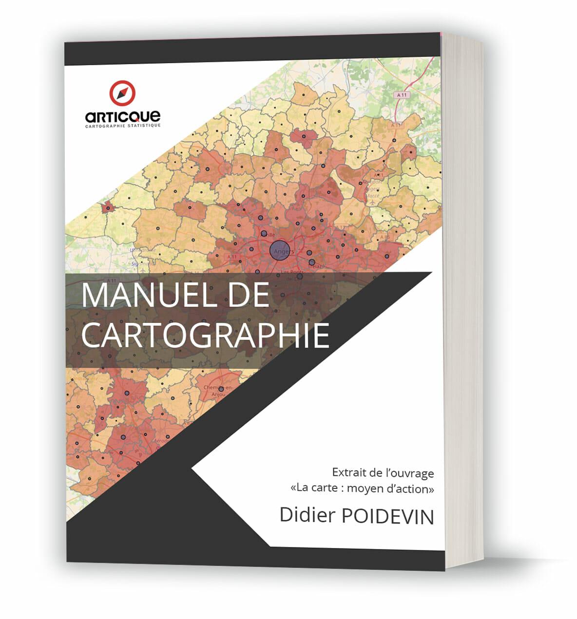 Le manuel de cartographie par didier poidevin