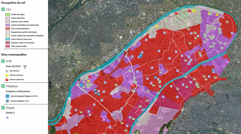 Demarche RSE : cartographie des Hauts-de-Seine