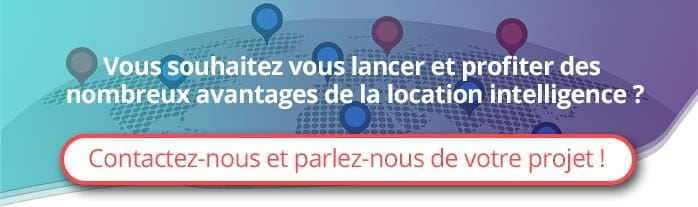 Location intelligence contact