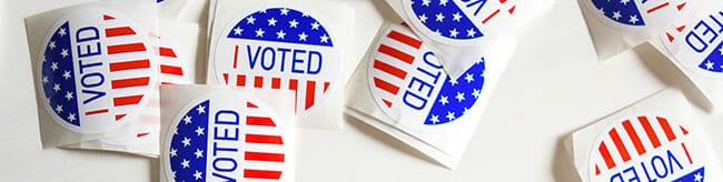 Vote lors de l'election americaine 2020