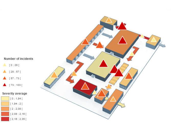 Cartographie d'usine