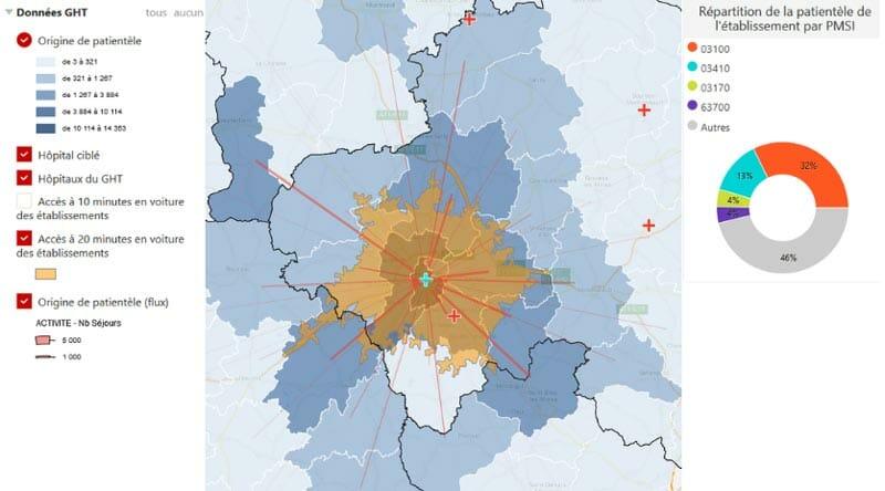 Atlas des activites hospitalieres