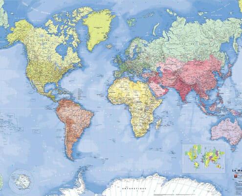 Planisphere blay foldex du monde