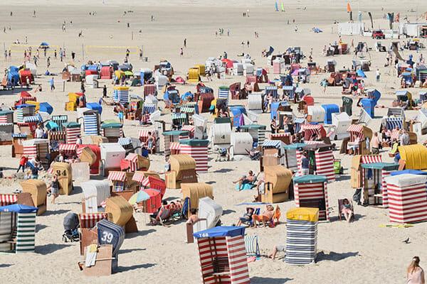 Developpement touristique : une plage en france
