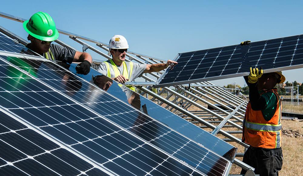 Production d'energie photovoltaique