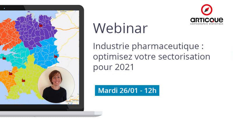 Webinar industrie pharmaceutique 26 janvier
