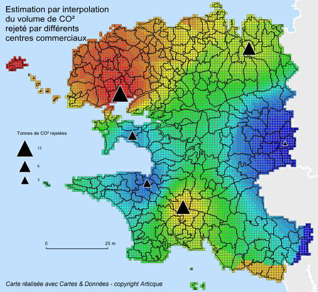environnement carte des emissions carbone en bretagne