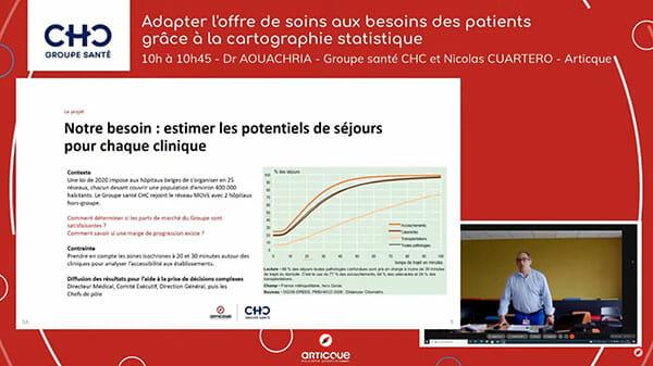 geodecisionnel 2021 : intervention du docteur aouachria en direct de liege