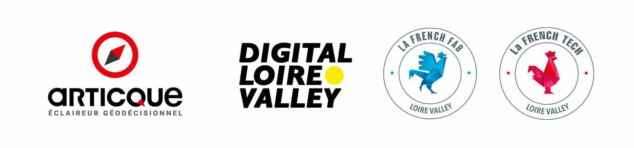 logos articque digital loire valley