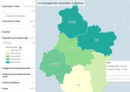 miniature disparites territoriales dans la vaccination covid 19