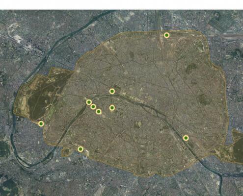 Lieu des épreuves paralympiques capitale JO Paris 2024