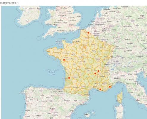 JO Paris 2024 - les sites de compétitions en province